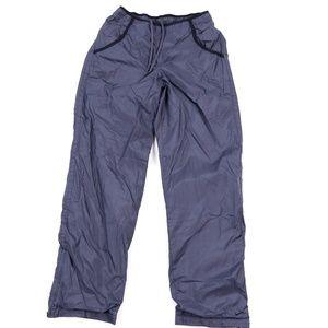 90s Nike Womens Small Swoosh Logo Nylon Pants